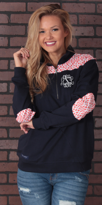 f2bb1d238db Monogrammed Simply Southern Preppy Pullover - Available in 4 Colors on  Marleylilly.com!