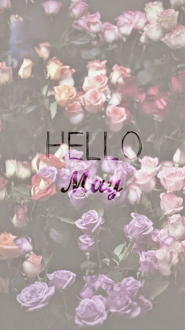 Wallpaper Iphone Hello May With Images Iphone Wallpaper Cute