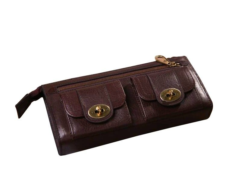 8b1aa7025a Mulberry Women Dark Coffee Somerset Wallet Special Price: $116.80 ...