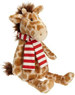 Jellycat George Giraffe With Scarf Soft Toy Jellycat Soft Toy Toys