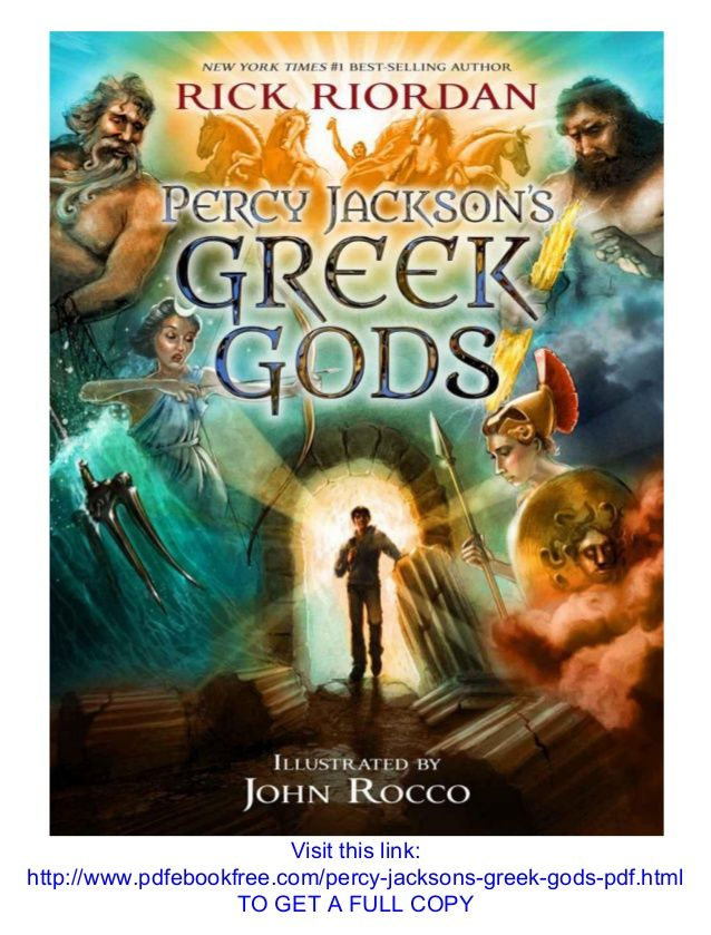 Percy Jackson Greek Gods Rick Riordan Pdf Download Education