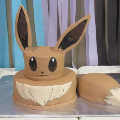 Image Result For Eevee Cake Ideas Cake Ideas Pokemon