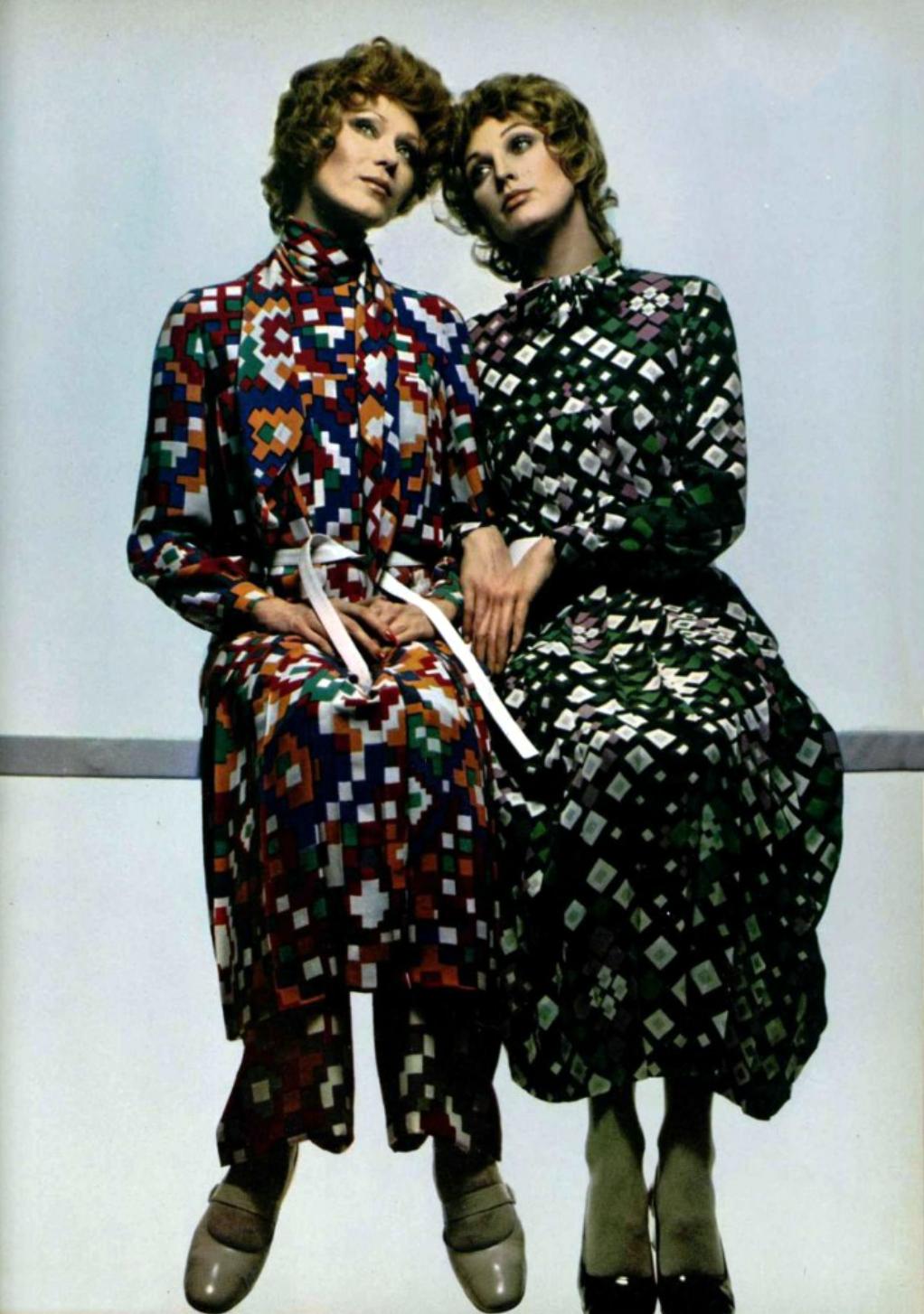 L\'Officiel Magazine 1970 | Seventies Fashion Fall & Winter | Pinterest