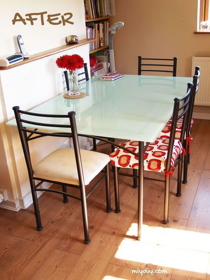 Painting A Glass Table Top Glass Top Dining Table Glass Top