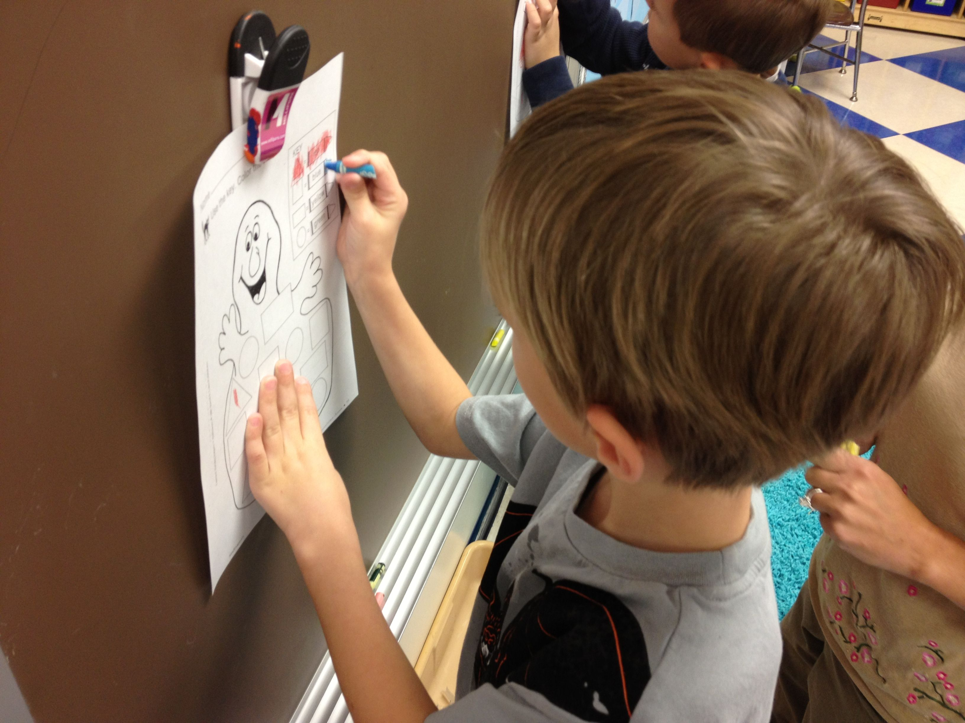 Vertical Writing To Build Fine Motor Skills