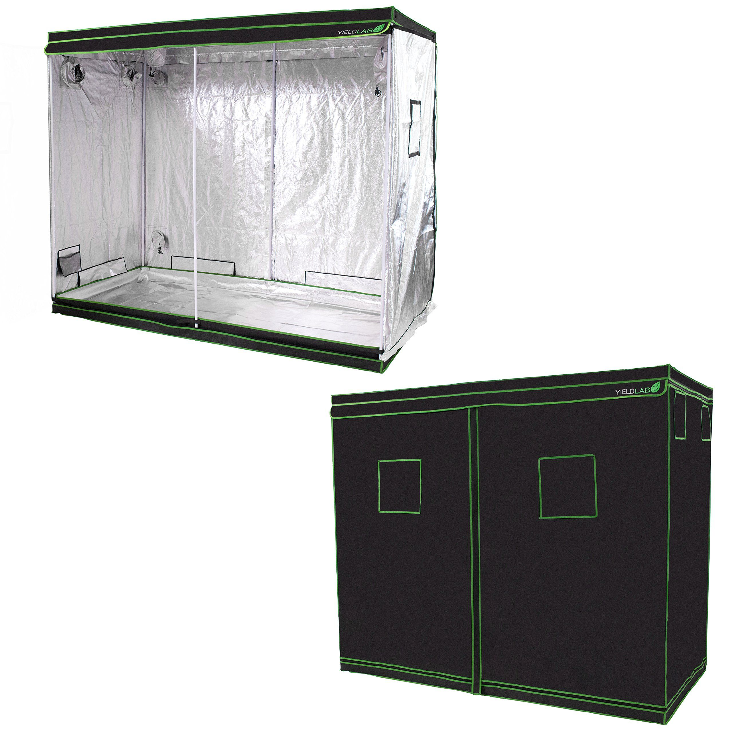 TopoLite 24x24x48 Indoor Grow Tent Hydroponic Growing Dark Room Green Box with Viewing Window