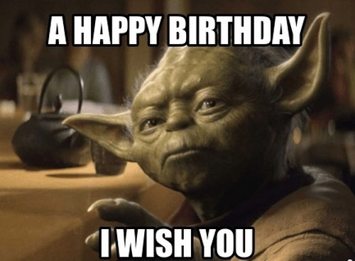 Star Wars Birthday Memes Wishesgreeting Star Wars Happy Birthday Star Wars Humor Star Wars Quotes