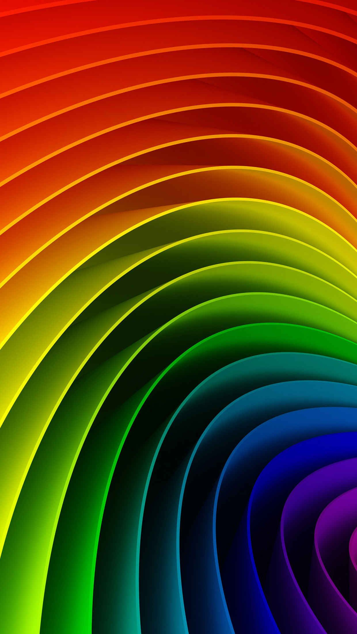 25 Awesome Iphone 6 Wallpapers Rainbow Colors Rainbow Art