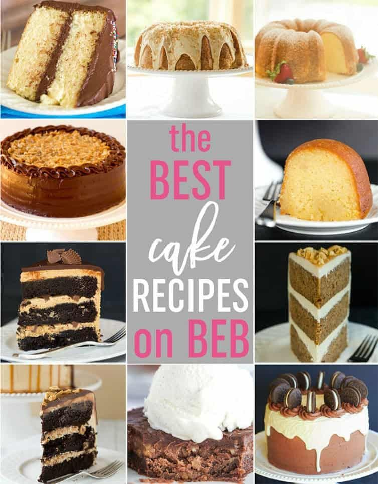 Top 10 List Best Cake Recipes Best Recipes Voted By Pinterest