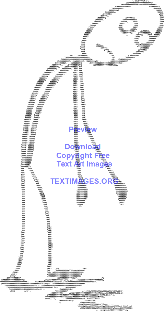 Exhausted Stickman Figure Tired Sad Stick | Ascii art | Exhausted