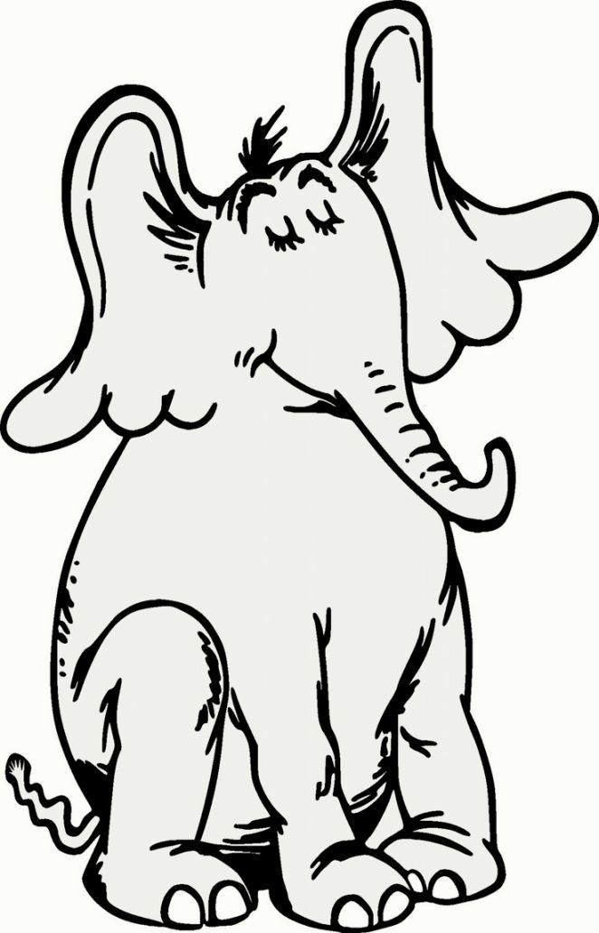 Horton Hears A Who Coloring Pages Dr Seuss Coloring Pages Dr