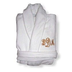 Luxurious Monogrammed Bathrobe!