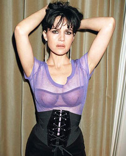 Serious? Carla gugino see through