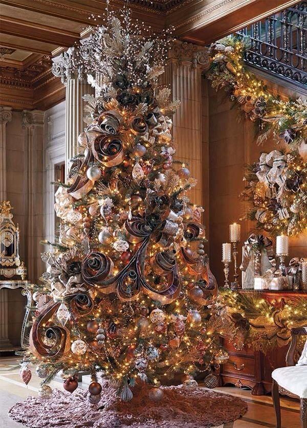We are going to try this for our ribbon on the classic tree