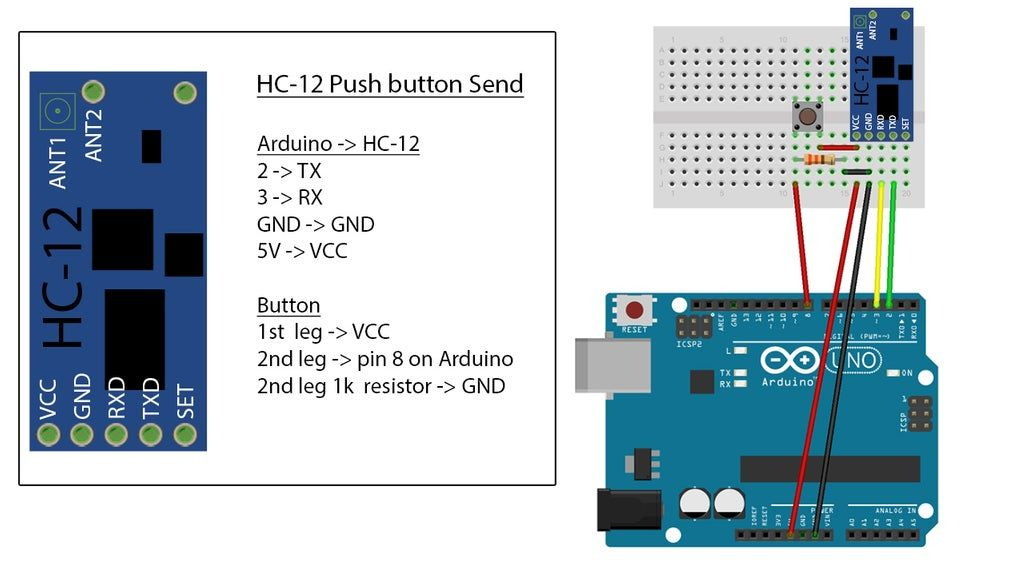 Long Range, 1 8km, Arduino to Arduino Wireless Communication With