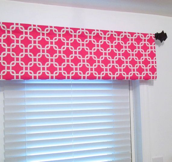 Premier Prints Gotcha Candy Pink White Curtain Rod By