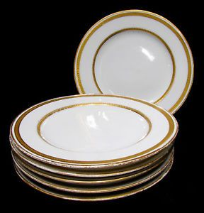 Vintage Theodore Haviland Limoges France For Burley Company Chicago Bread Butter Plates Plates Limoges Antiques Online