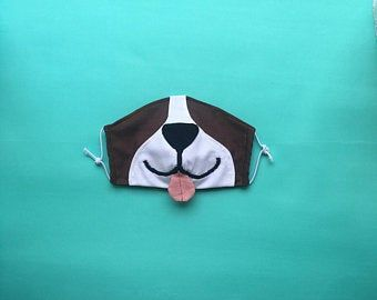 Photo of Fox Face Mask with Filter Pockets