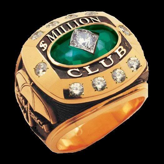Five Million Dollars Primerica 5 Million Dollar Ring Million Dollar Ring Money Plan Dollar