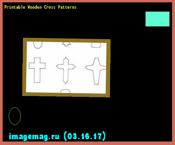 Printable Wooden Cross Patterns  - The Best Image Search