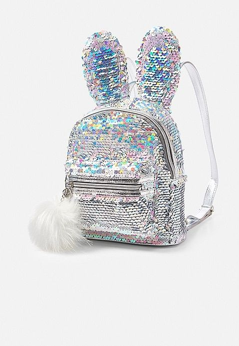 33738c337 Bunny Flip Sequin Mini Backpack | Justice | Listas de deseos | Mochila de  lentejuelas, Mochila pequeña und Mochila de moda