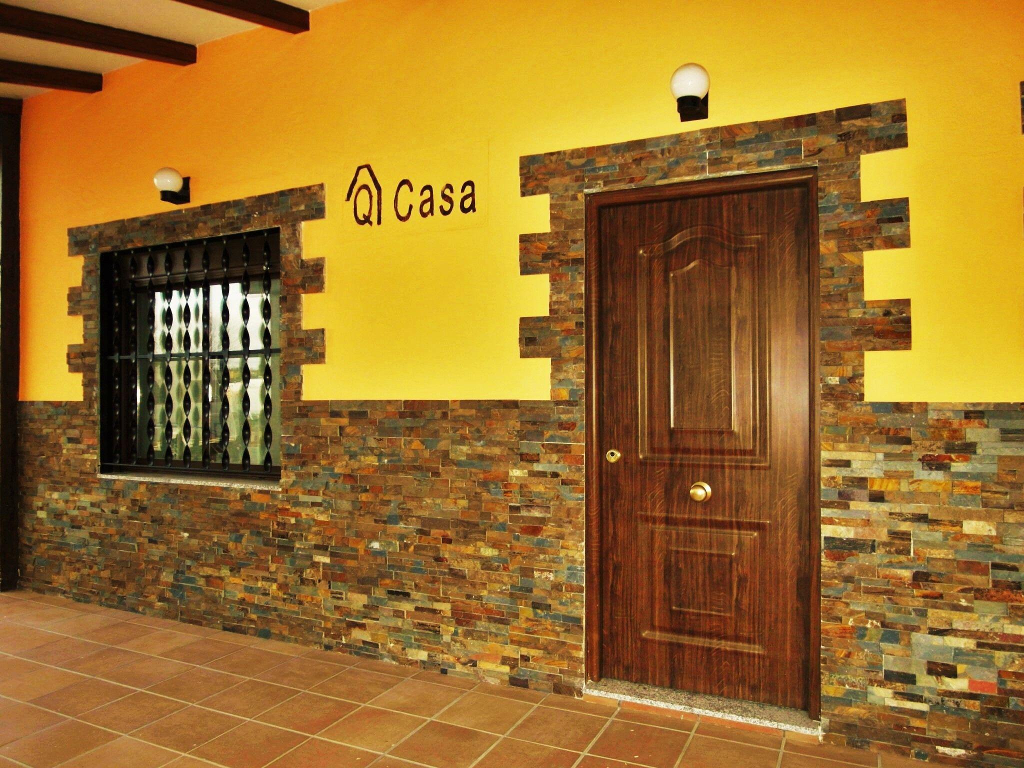 Acabado liso y zocalos con piedra de laja www for Casas prefabricadas piedra