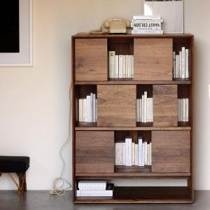 Nordic Walnut Low Rack