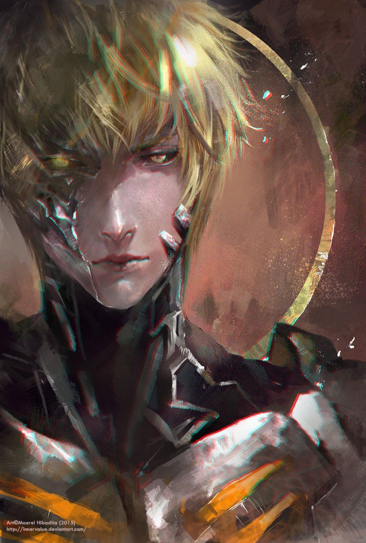 Genos's fanart from One Punch Man Art by me done with