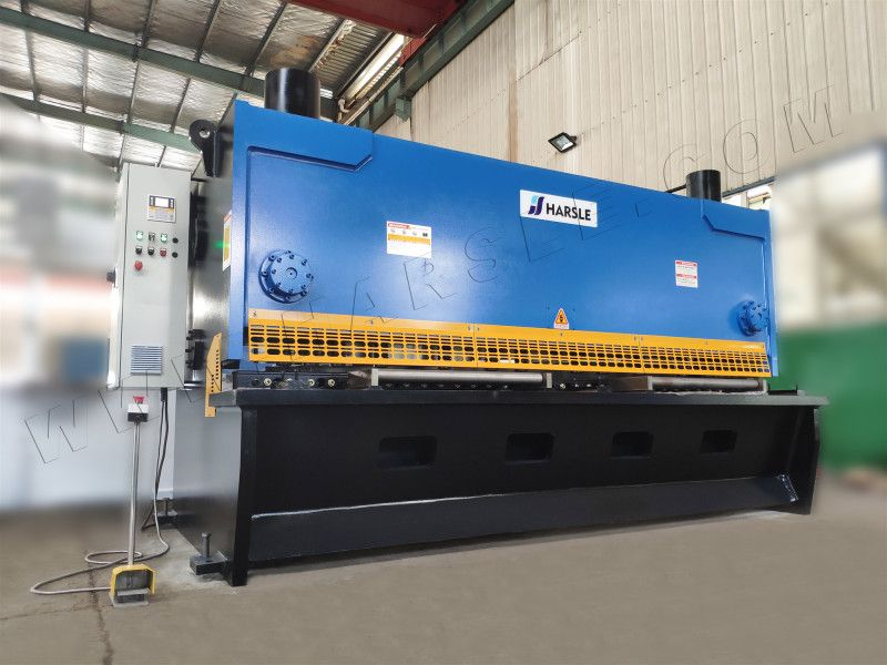 2500mm Hydraulic Guillotine Shearing Machine With P40 Qc11k 30 2500 Heavy Duty Sheet Metal Shears Metal Shears Sheet Metal Shearing