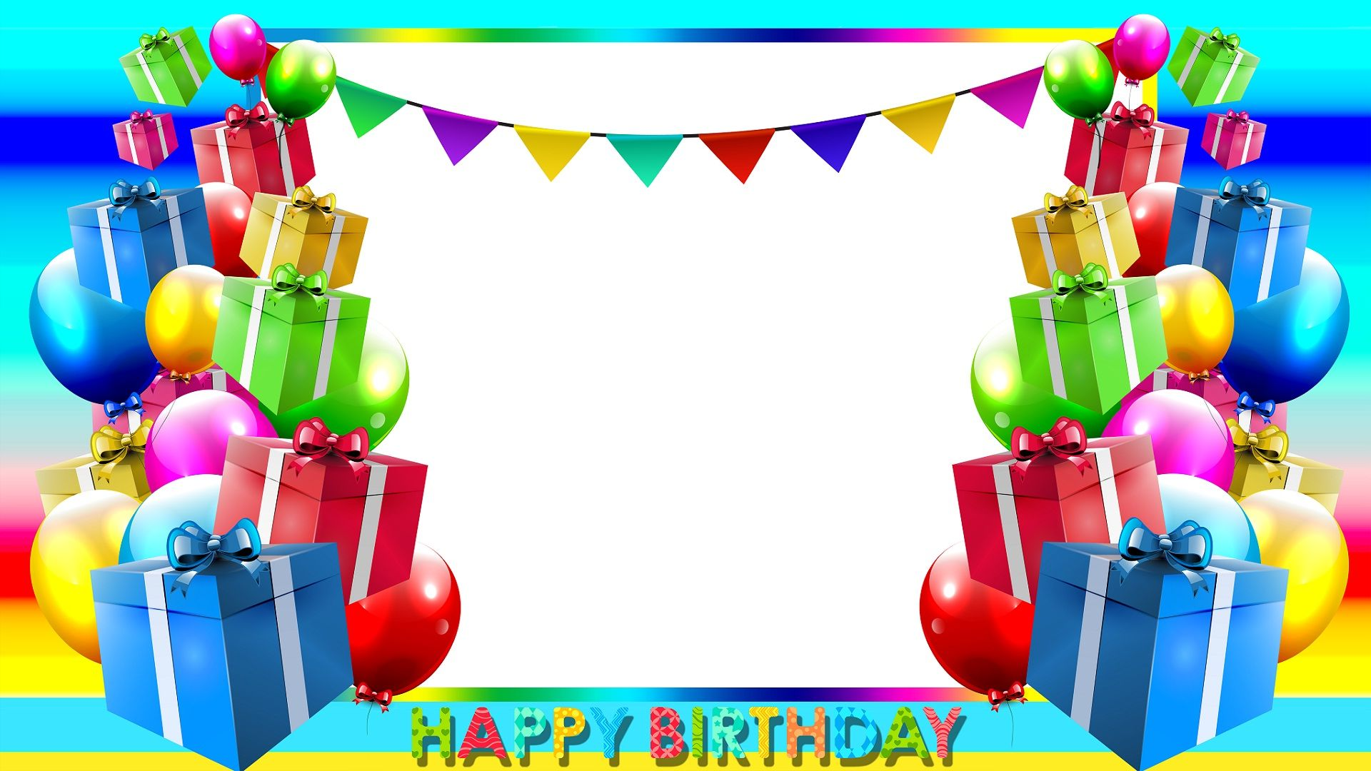 Image result for birthday wish frame png | Party and decoration ...