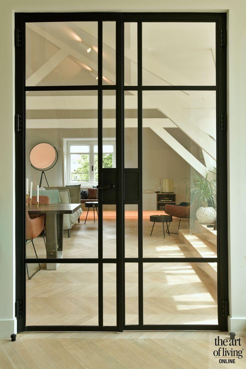 Sfeervol penthouse By Thimble in 2020 Stalen deuren