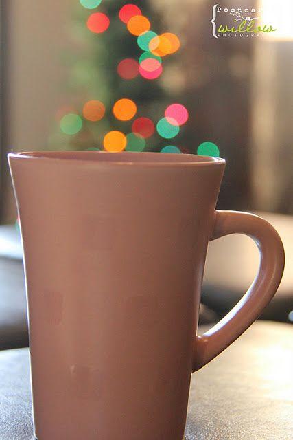 'Tis The Season For A Nice Warm Cup Of Christmas Bokeh Photography