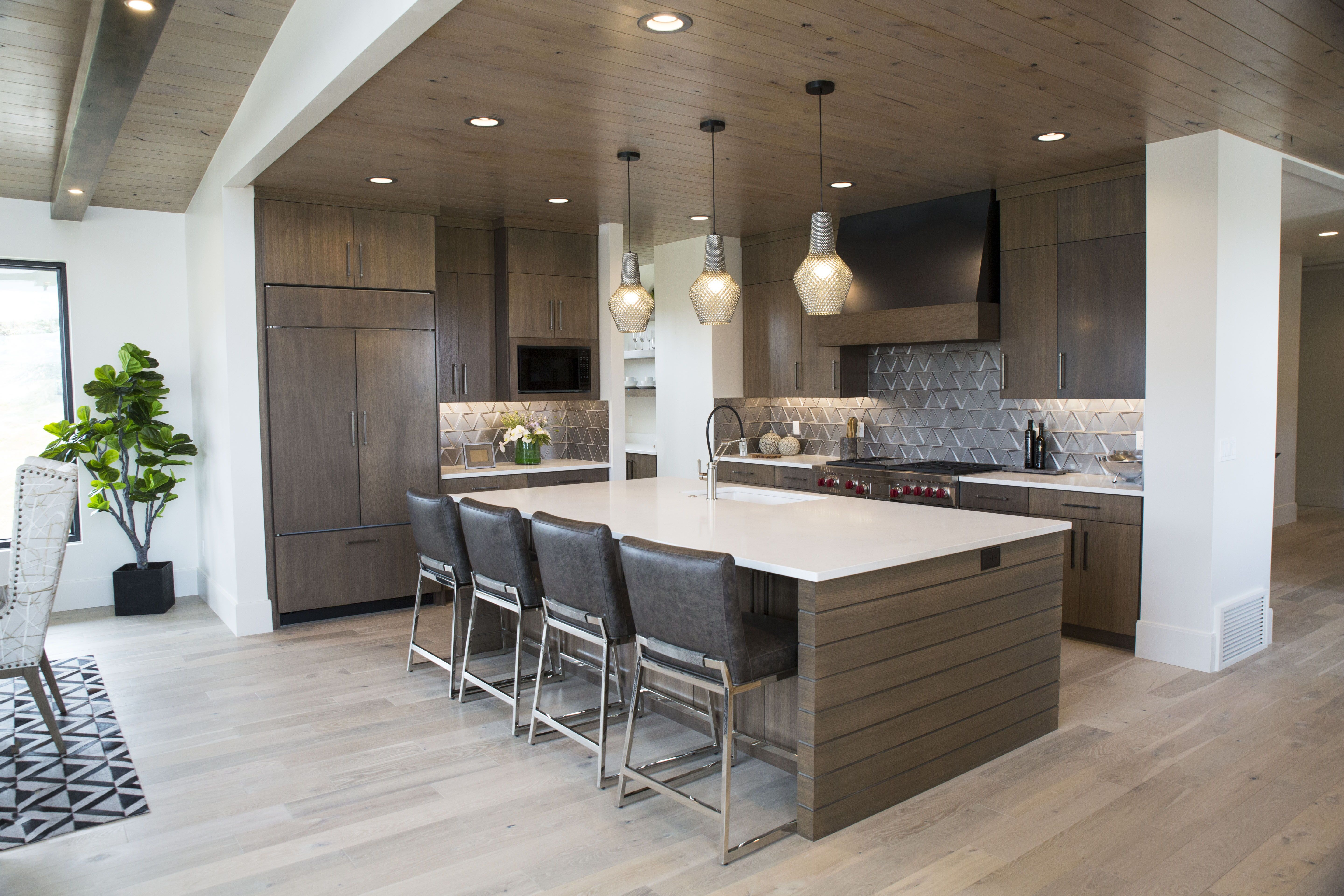 Such A Sleek And Modern Kitchen Remodel Countertop