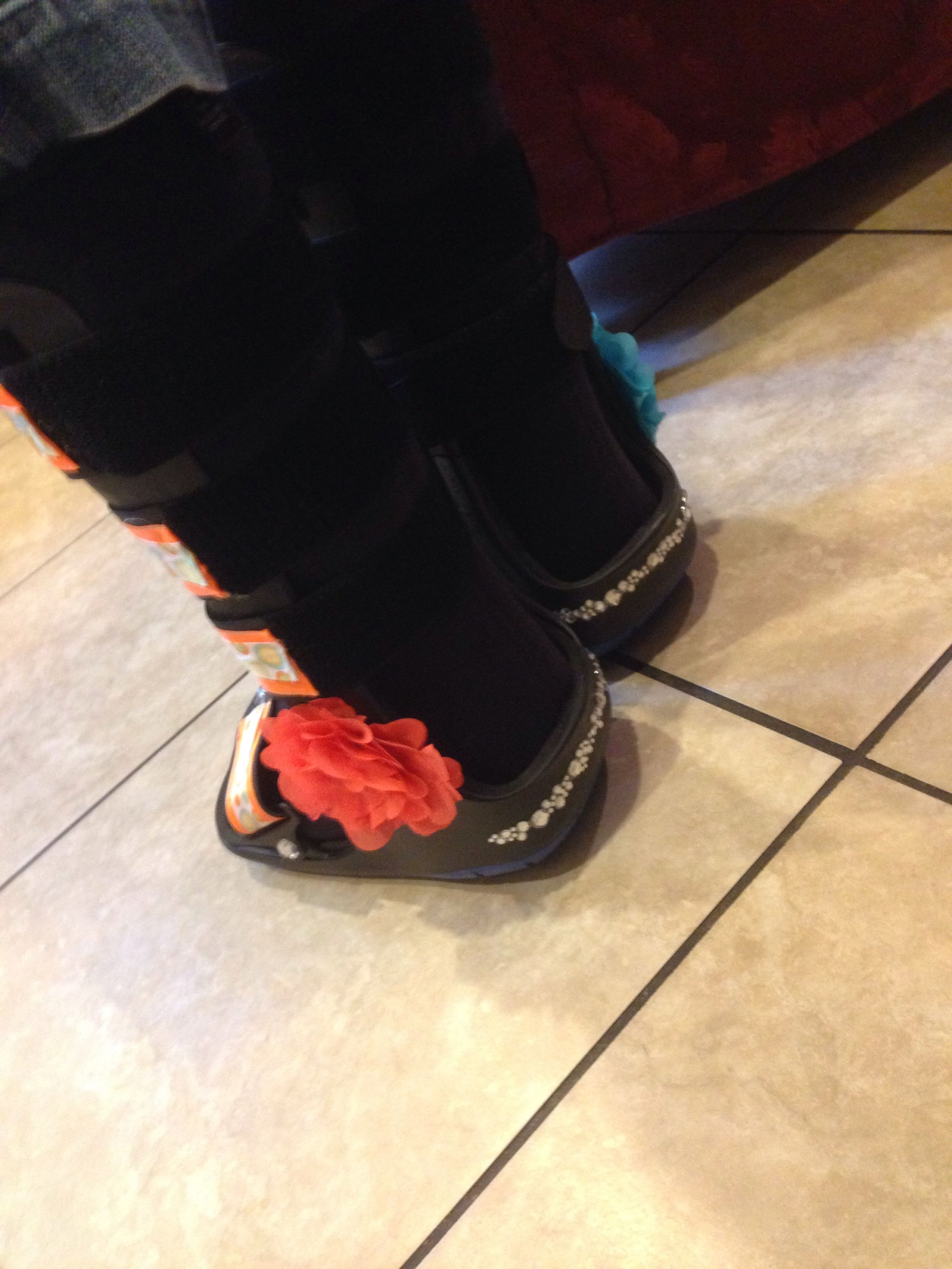Diy Walking Cast Or Boots With Images Boots Walking Boots