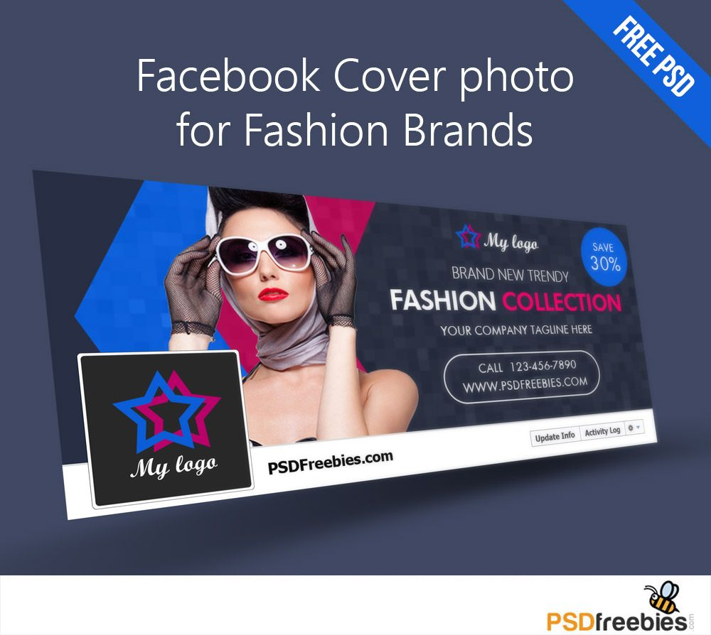 Facebook Cover Photo For Fashion Brands Free Psd Throughout