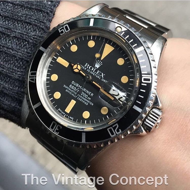 The Vintage Concept On Instagram Rolex Submariner Matte Dial 1680 Whatsapp 852 96991000 Email Info Thevintageconce Rolex Submariner Vintage Concepts Rolex