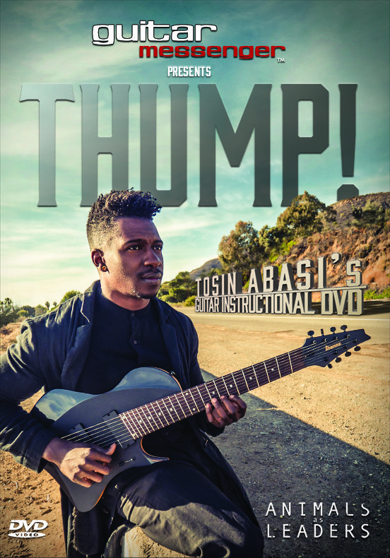 Thump Tosin Abasi S Instructional Dvd Tosin Abasi Dvd Music Magazines