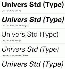 Univers By Adrian Frutiger And Alexei Chekulayev