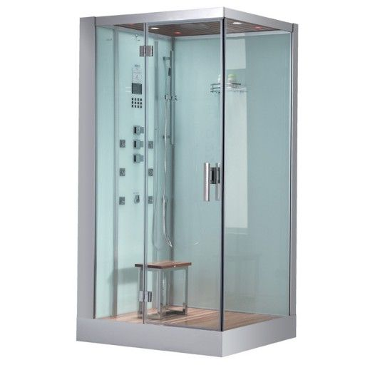 Ariel Bath Platinum 6 Kw Left Steam Shower Steam Shower Enclosure Steam Shower Units Shower Enclosure Kit