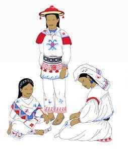 Mexico Indumentaria De Los Indigenas Huicholes Trajes Tipicos De Mexico Trajes Tipicos Mexicanos Folklore Mexicano