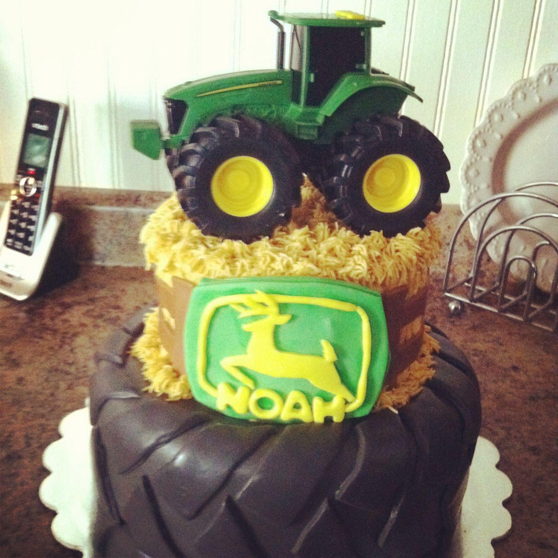 John Deere cake John Deere Pinterest Cake and Lane cake
