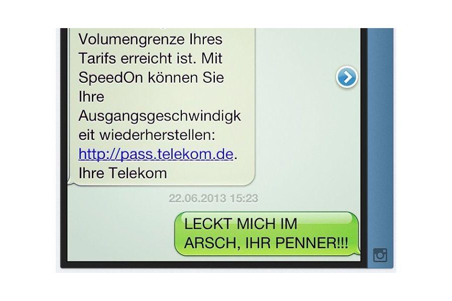 Diskurs auf #Twitter: #Telekom gegen Griesgrämer