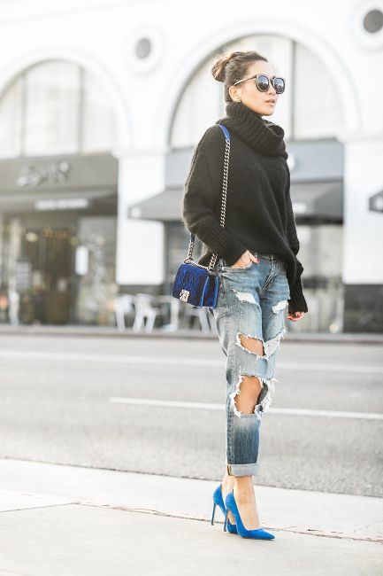 8b051a90dee Top    Superfine sweater Bottom    Zara Shoes    Manolo Blahnik Bag     Chanel Accessories    Daniel Wellington watch Karen Walker sunglasses