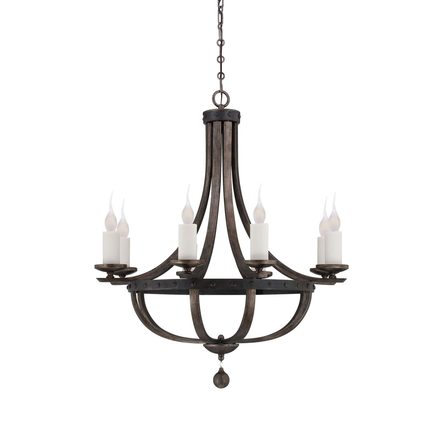 Alsace 8 Light Chandelier $756 at House of Antique Hardware