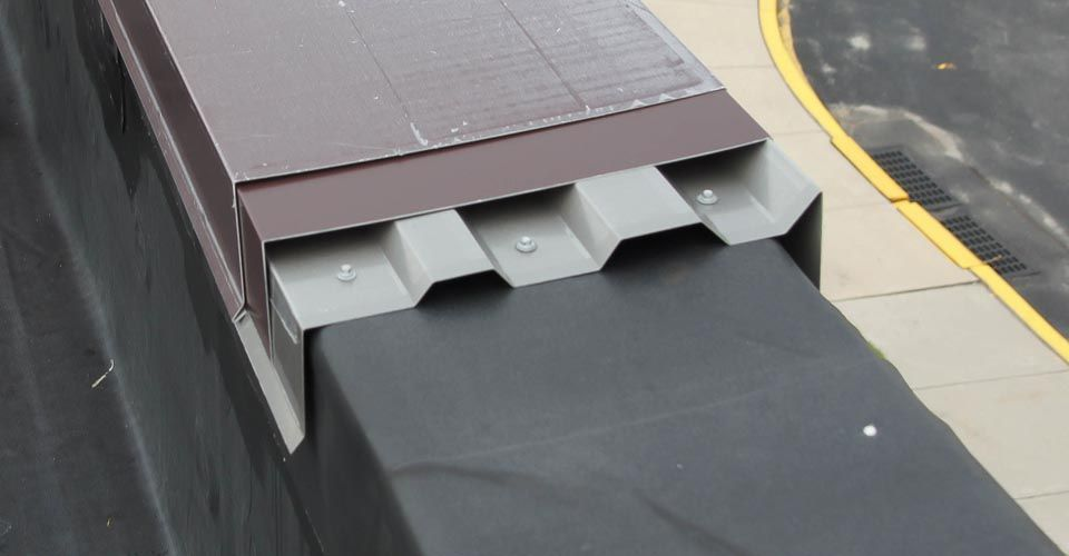 Metal Coping Systems In Pa Roof Design Roof Edge Roof Construction