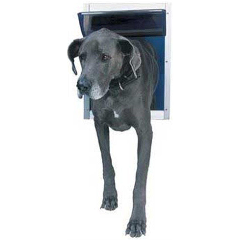 Perfect Pet Aluminum Pet Door Extra Large 105 X 15 Flap Size