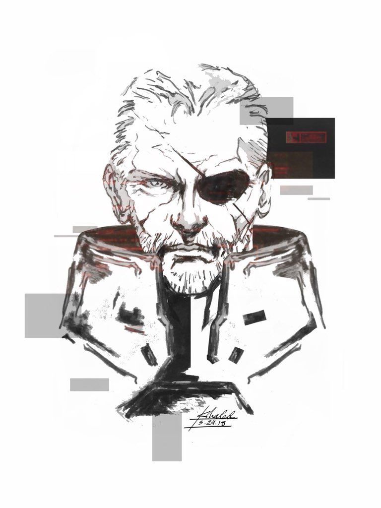 Metal Gear Solid Casting - Solidus Snake by Doc0316 on