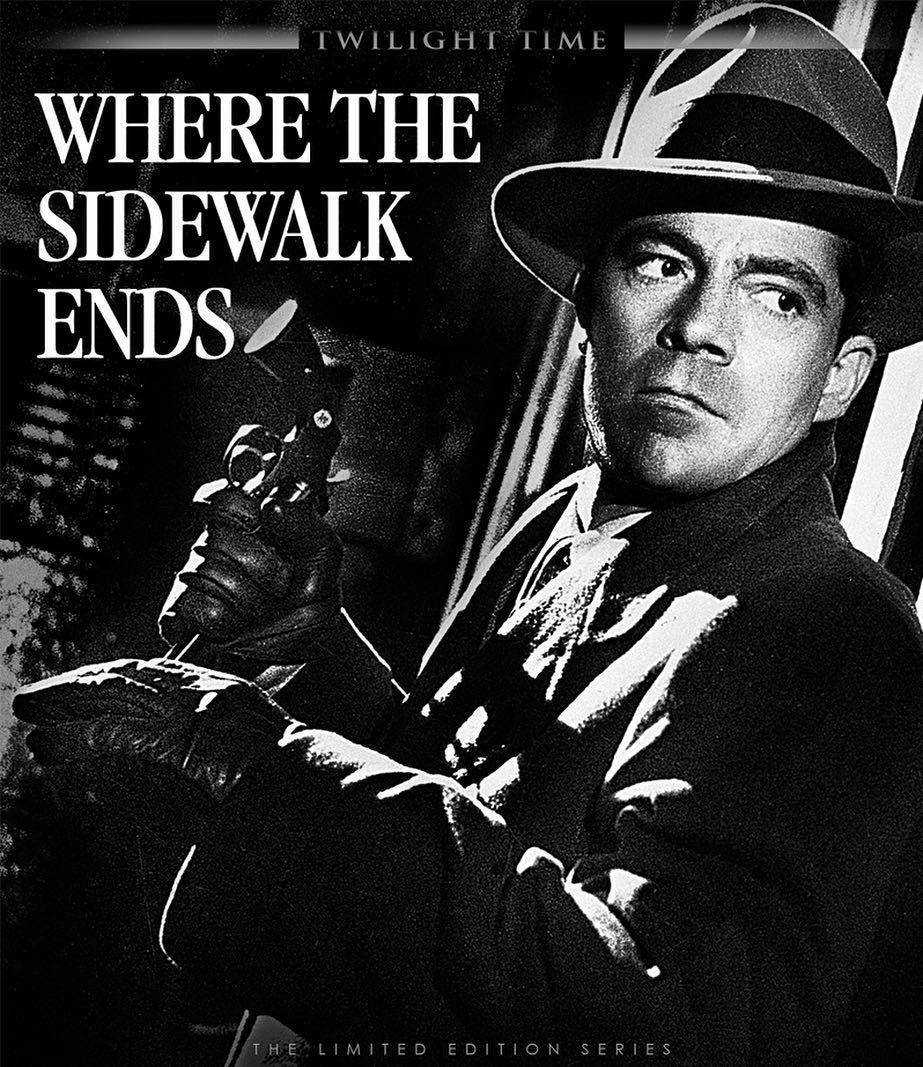 "Twilight Time Art on Instagram: ""Concept art for Twilight Time's blu-ray  release of the film noir Where The Sidewalk End…   Film noir, Classic film  noir, Noir movie"