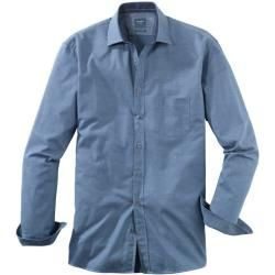 Photo of Olymp casual shirt, modern fit, Kent, Navy, M Olymp