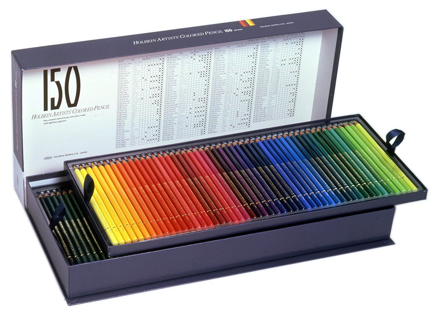 Amazonsmile Holbein Artist Colored Pencil 150 Colors Op945